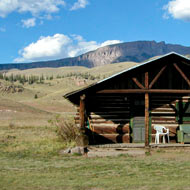log cabin rental web