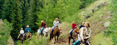 summer horseback riding san juans